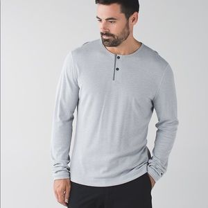 Lululemon Mens Meshter T Long Sleeve Grey …
